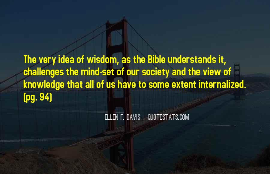 Quotes About Knowledge Bible #1554091