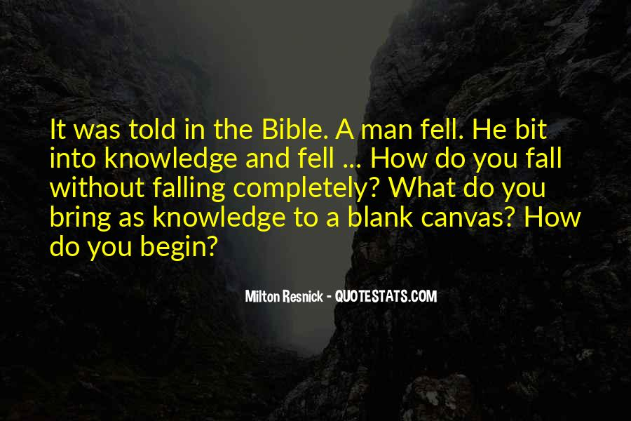 Quotes About Knowledge Bible #1751065