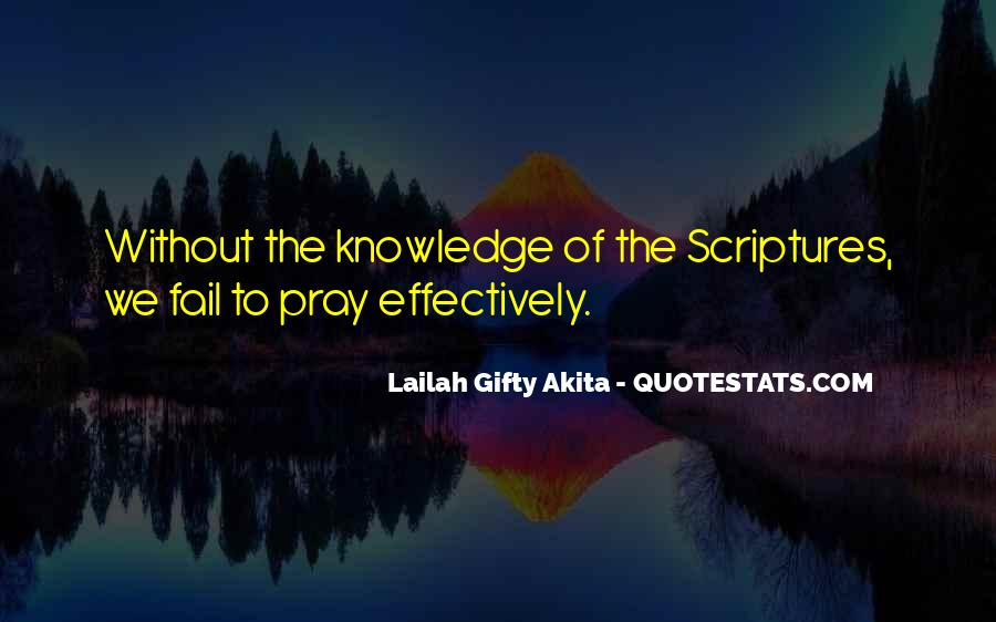 Quotes About Knowledge Bible #1755989