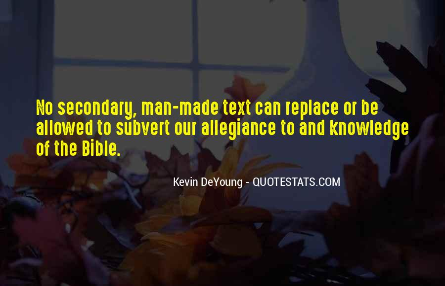 Quotes About Knowledge Bible #1801543