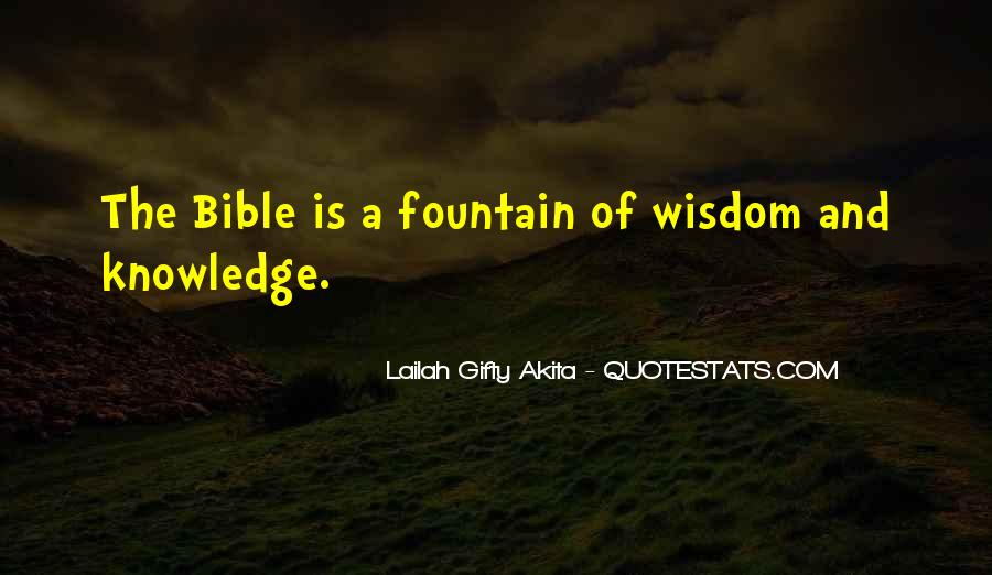 Quotes About Knowledge Bible #210215