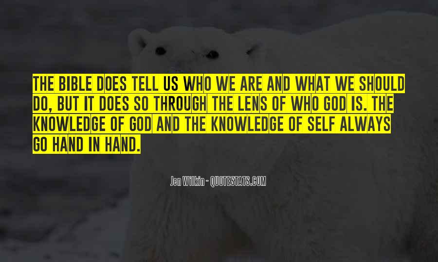 Quotes About Knowledge Bible #445535