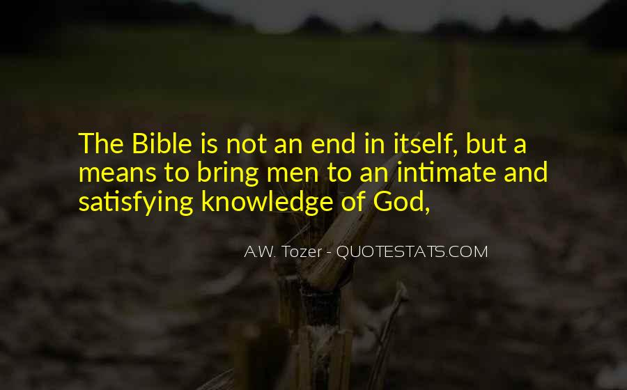 Quotes About Knowledge Bible #501723