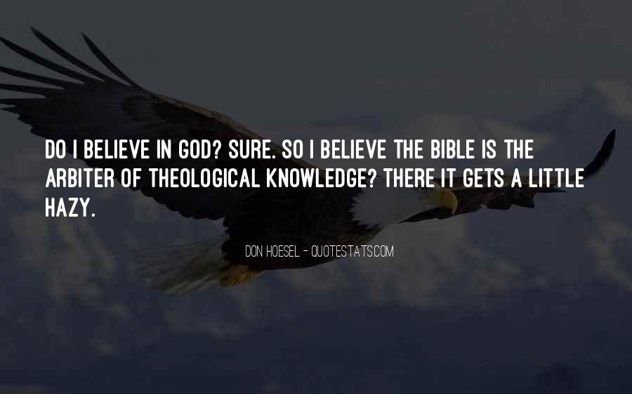 Quotes About Knowledge Bible #680600