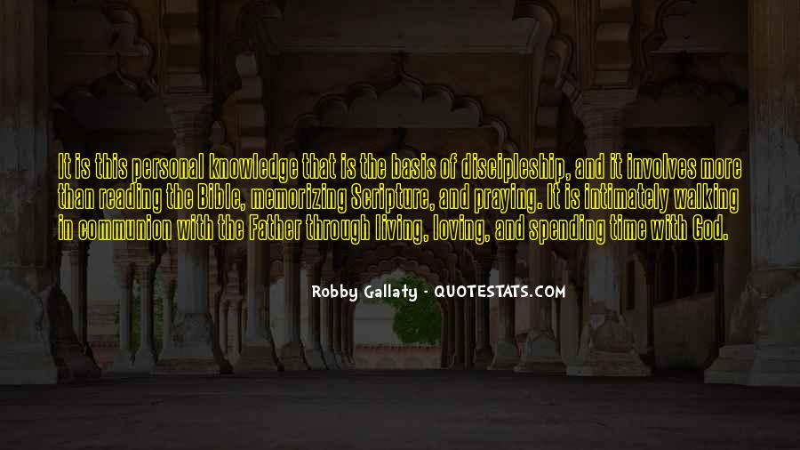 Quotes About Knowledge Bible #719229