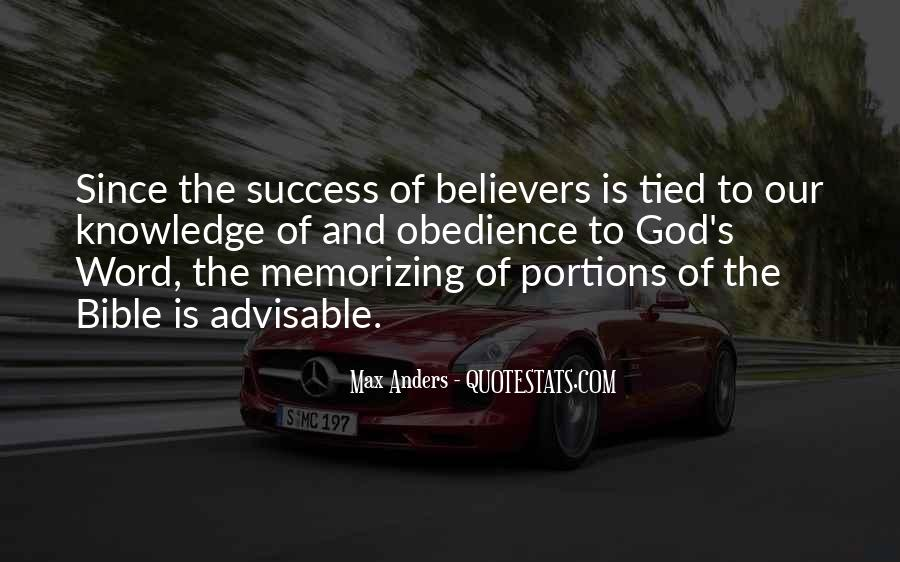 Quotes About Knowledge Bible #802152