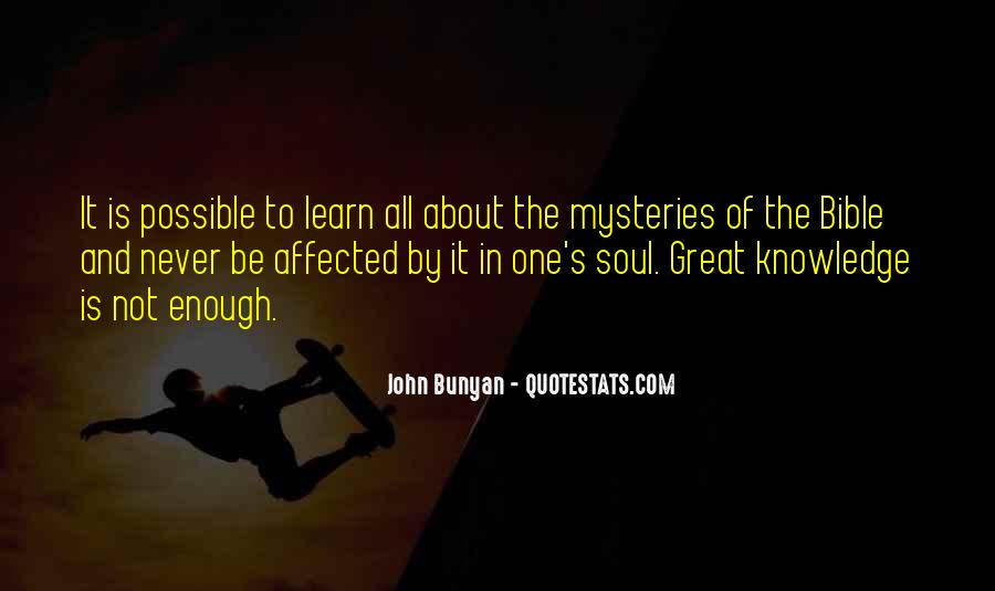 Quotes About Knowledge Bible #86173