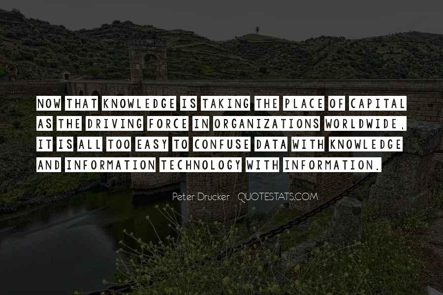 Quotes About Knowledge And Technology #1088649