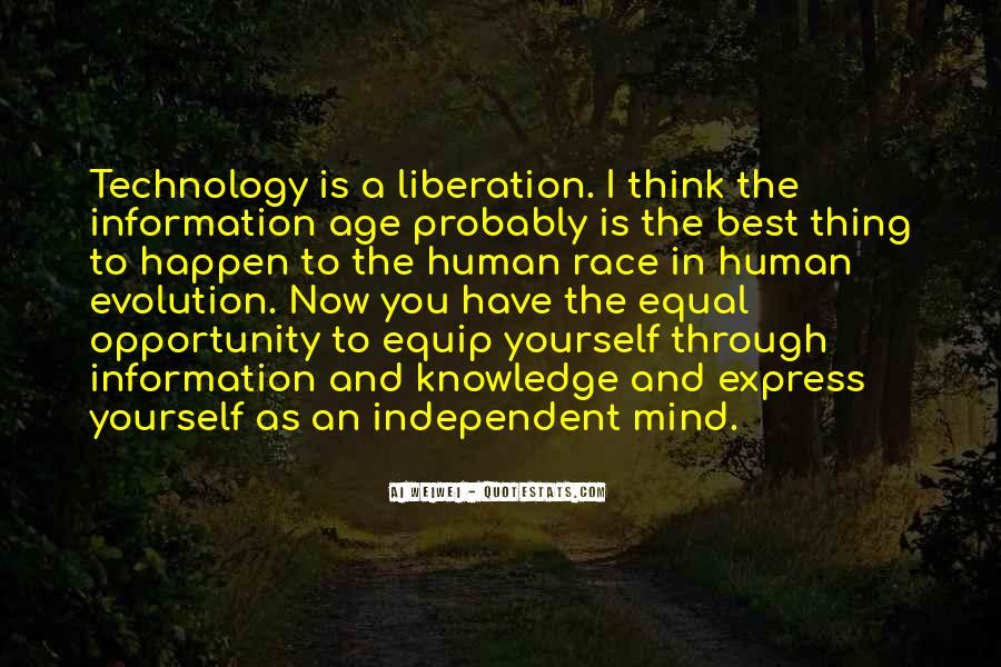 Quotes About Knowledge And Technology #1497748