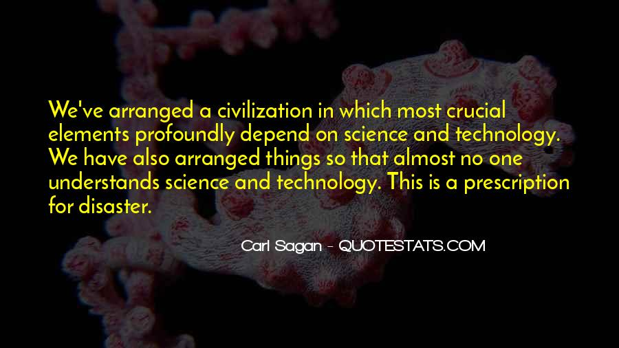 Quotes About Knowledge And Technology #1646610