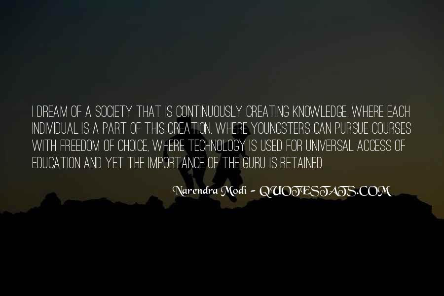 Quotes About Knowledge And Technology #1788735