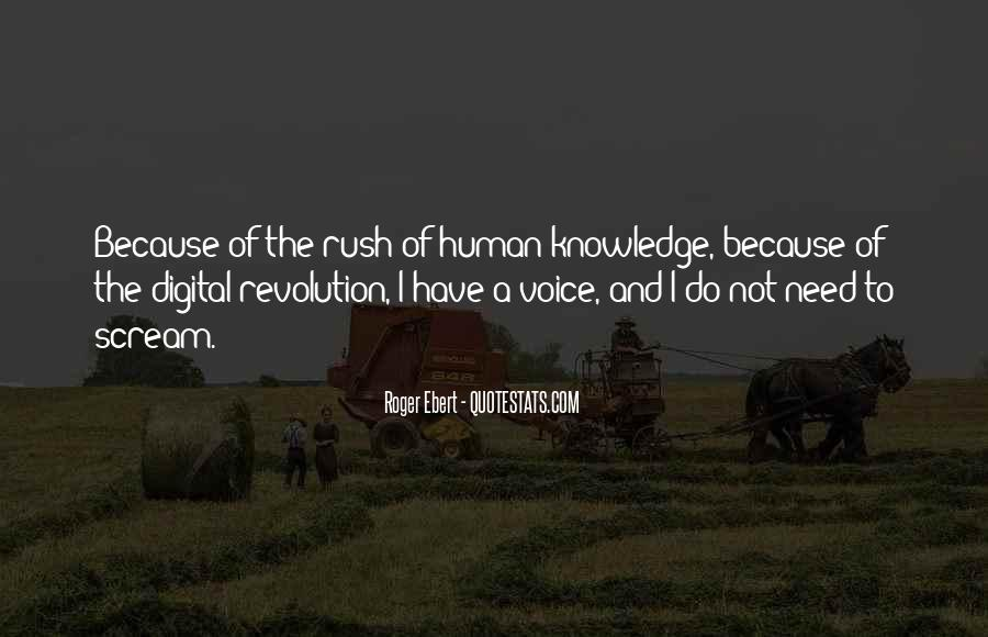 Quotes About Knowledge And Technology #266783