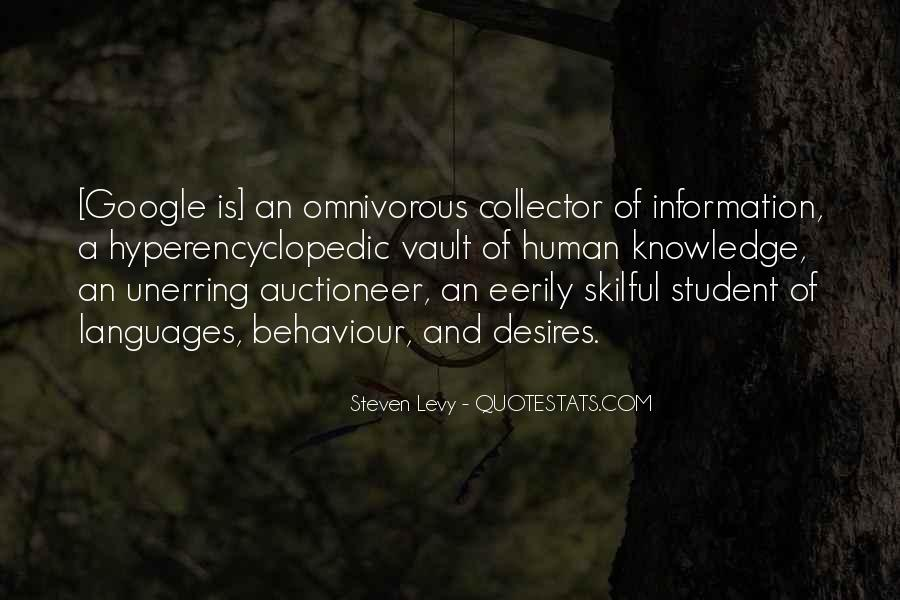 Quotes About Knowledge And Technology #6869