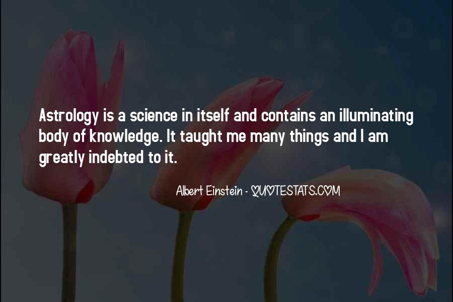 Quotes About Knowledge And Science #165367