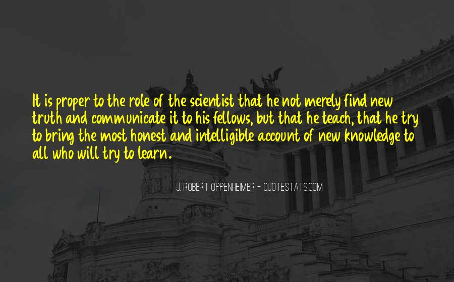 Quotes About Knowledge And Science #195018
