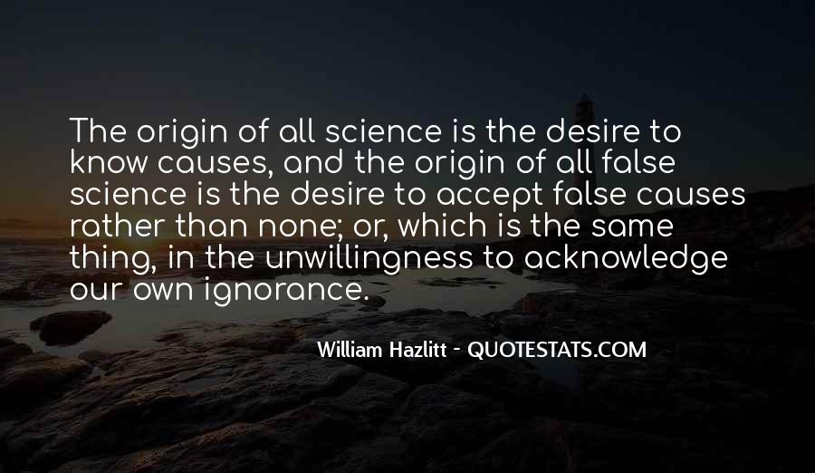 Quotes About Knowledge And Science #243579
