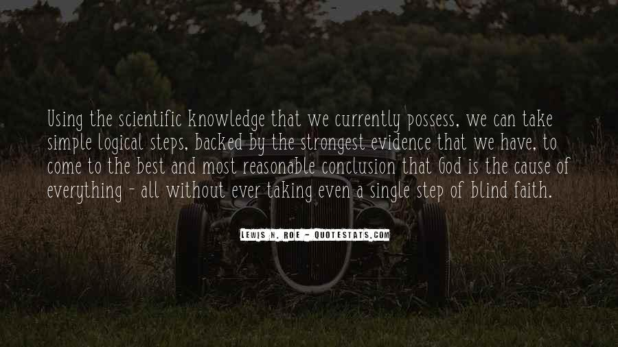 Quotes About Knowledge And Science #410417