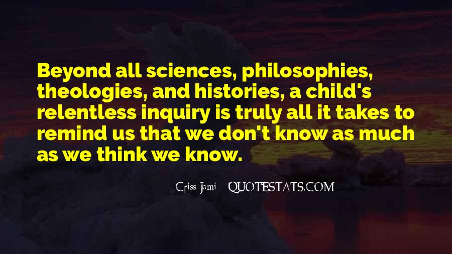 Quotes About Knowledge And Science #422996