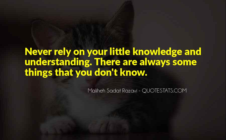 Quotes About Knowledge And Science #442102