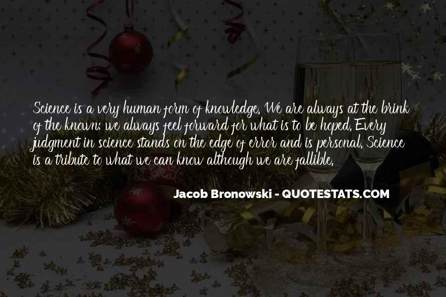 Quotes About Knowledge And Science #461637