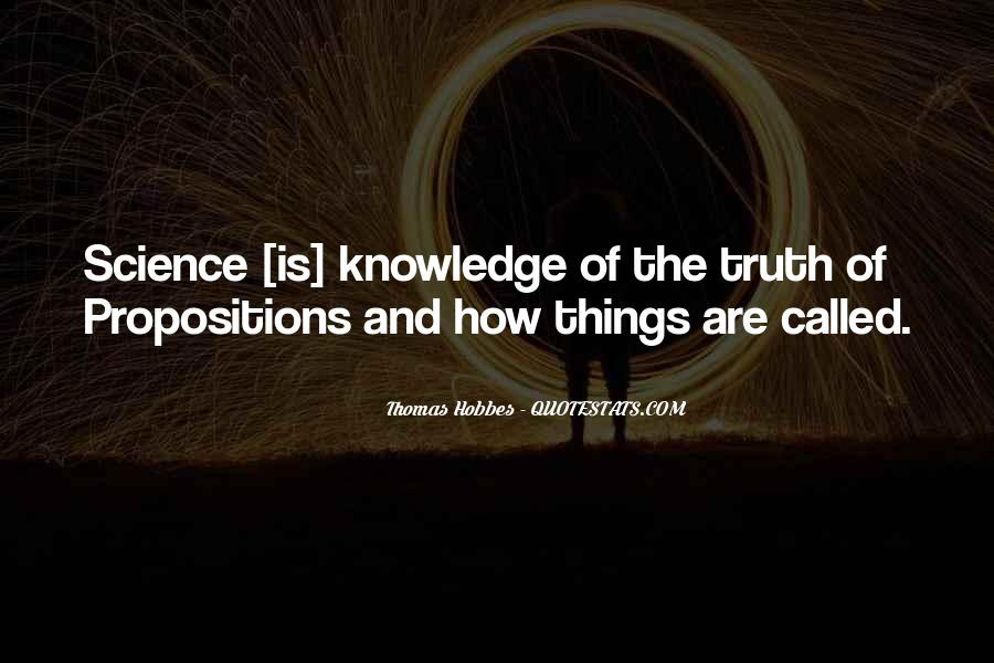 Quotes About Knowledge And Science #495033