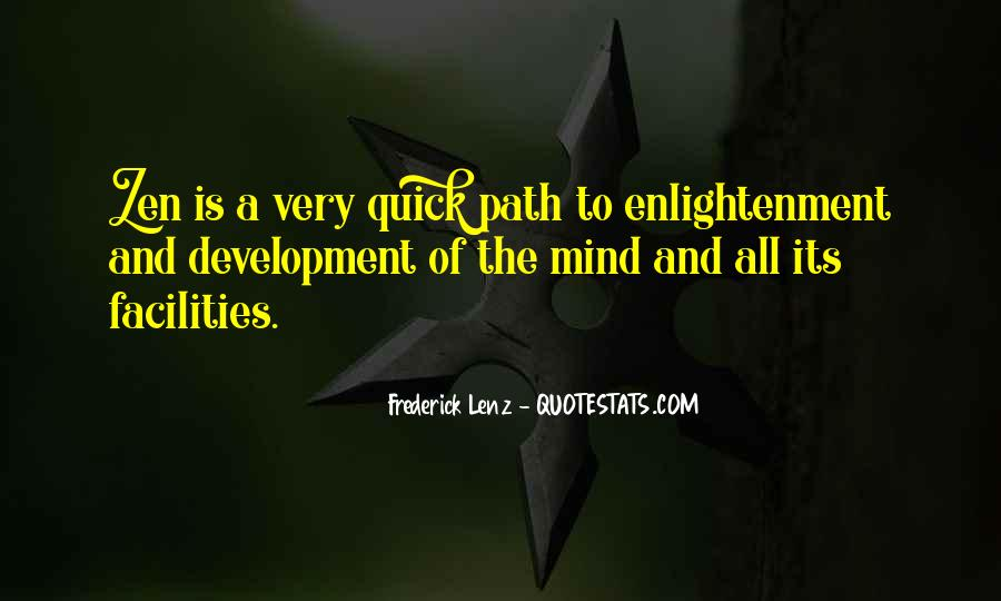 Quotes About The Path To Enlightenment #1201270
