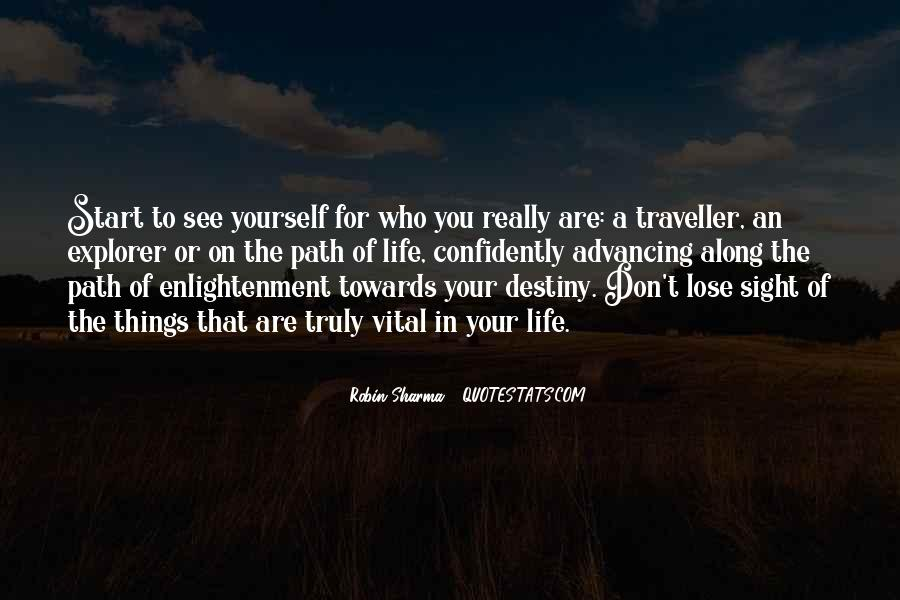 Quotes About The Path To Enlightenment #1430121