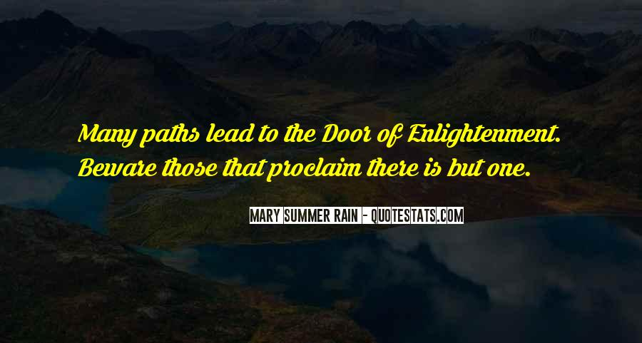 Quotes About The Path To Enlightenment #1439264