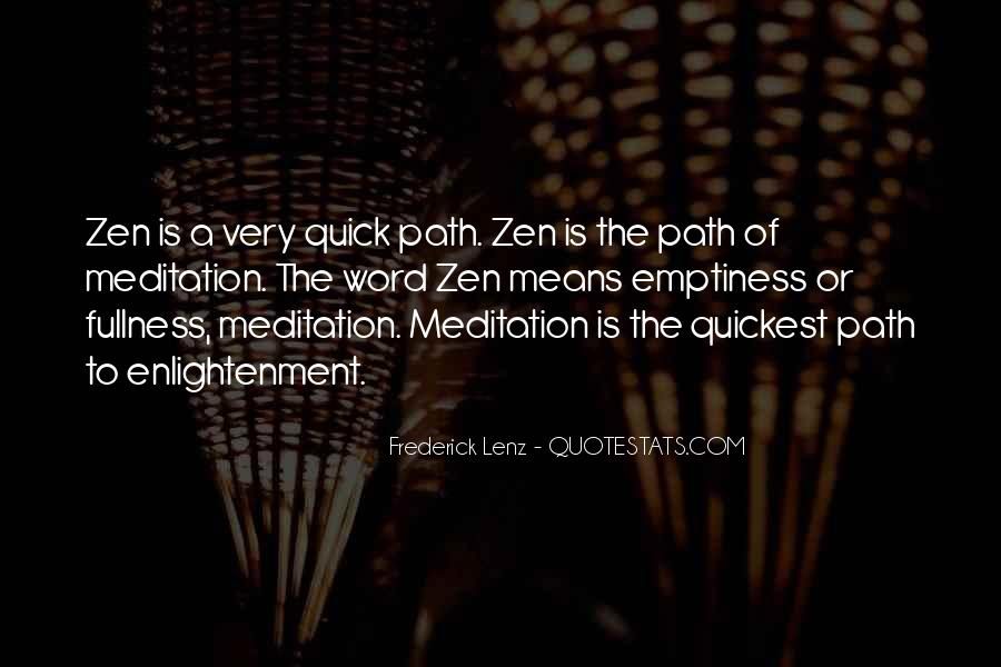 Quotes About The Path To Enlightenment #613799