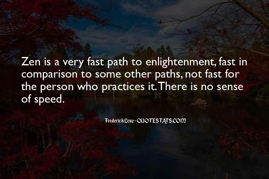 Quotes About The Path To Enlightenment #951149