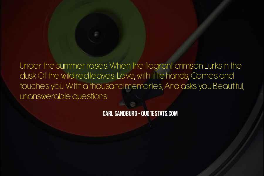 Crimson Love Quotes #1059858