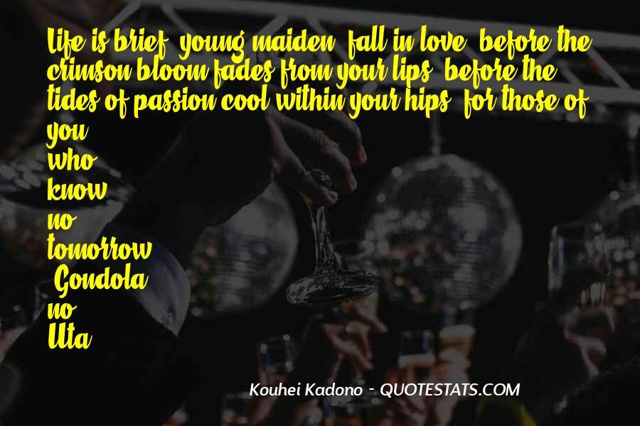Crimson Love Quotes #1755706