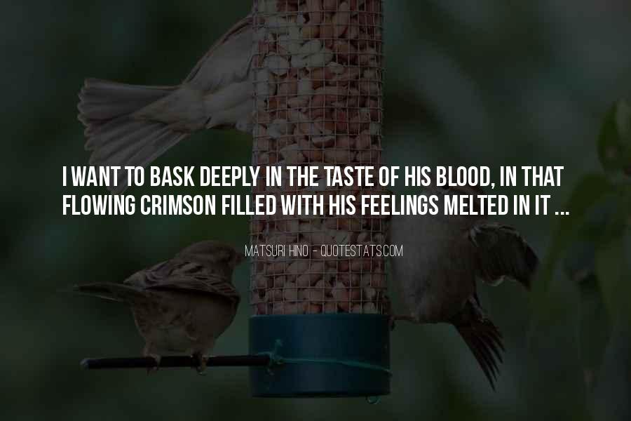 Crimson Love Quotes #176665