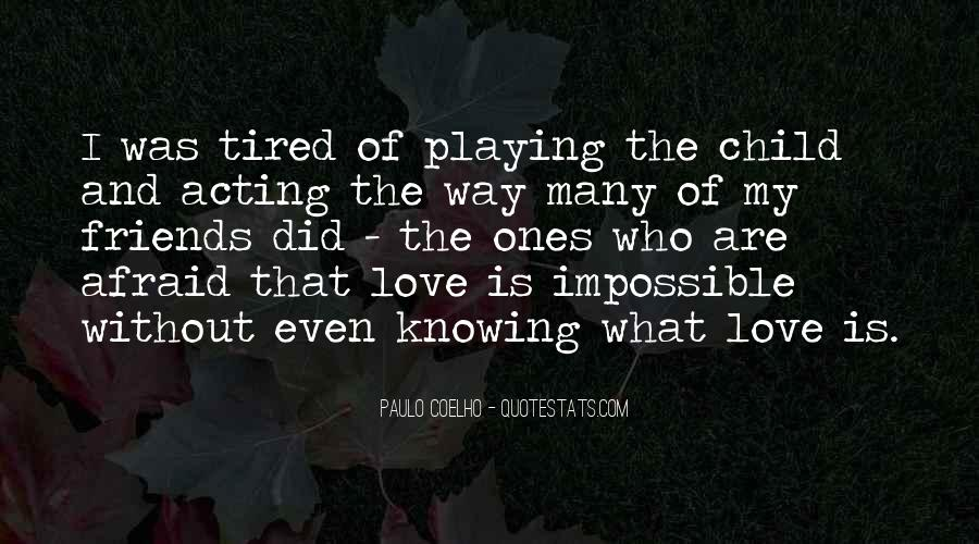 Quotes About Knowing Its Love #53431