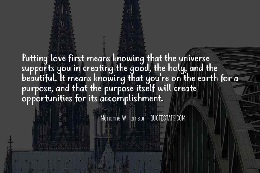 Quotes About Knowing Its Love #889241