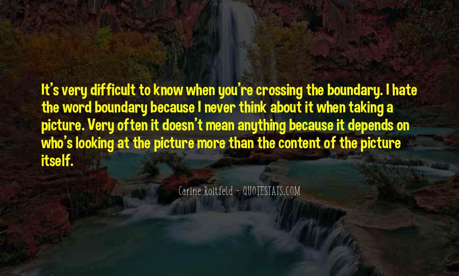 Crossing Boundary Quotes #1738126