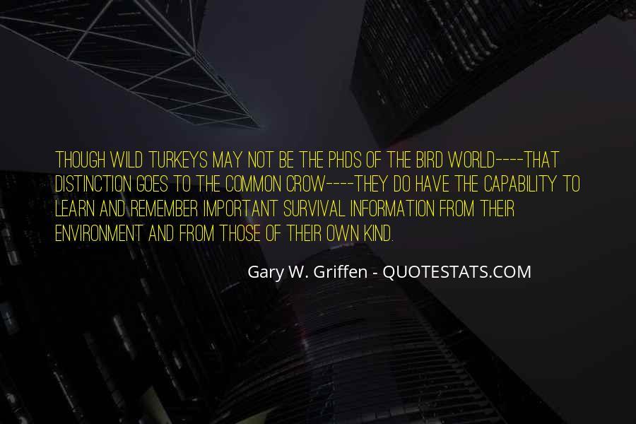 Crow Bird Quotes #190080