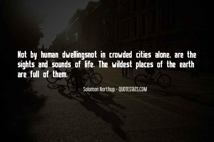 Crowded Cities Quotes #858443