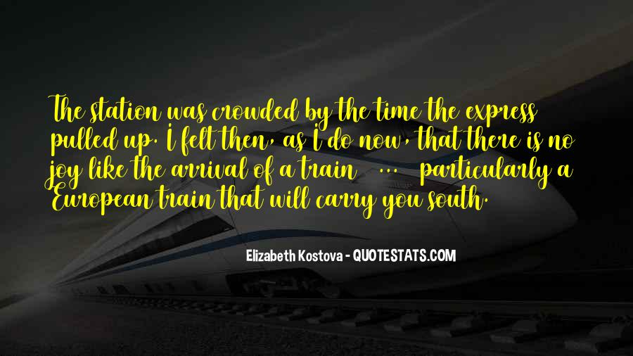 Crowded Train Quotes #1370225