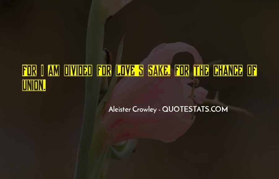 Crowley Quotes #165141
