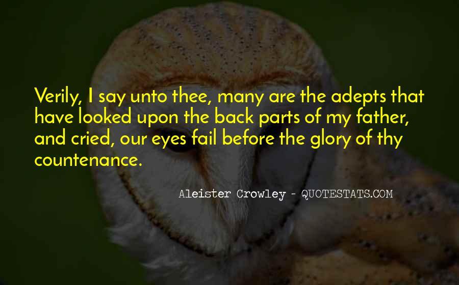 Crowley Quotes #28479