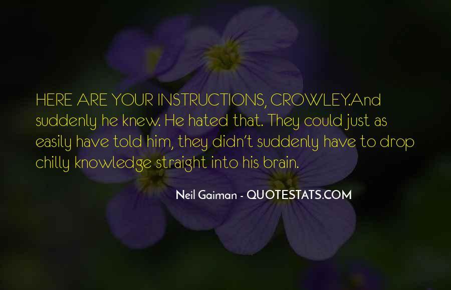 Crowley Quotes #83665