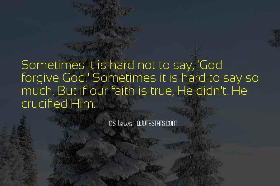 Crucified God Quotes #1060889