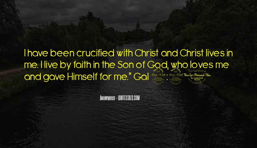 Crucified God Quotes #124209