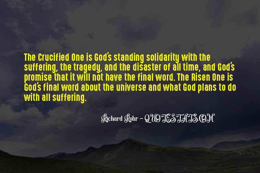 Crucified God Quotes #1784733