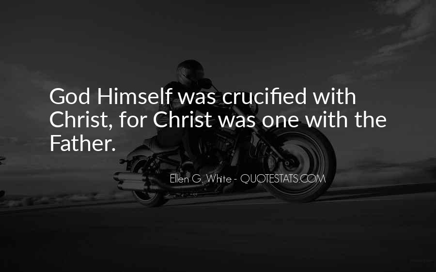 Crucified God Quotes #321980