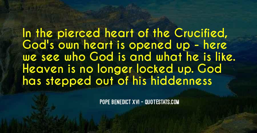 Crucified God Quotes #368555