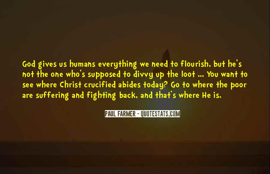 Crucified God Quotes #45757