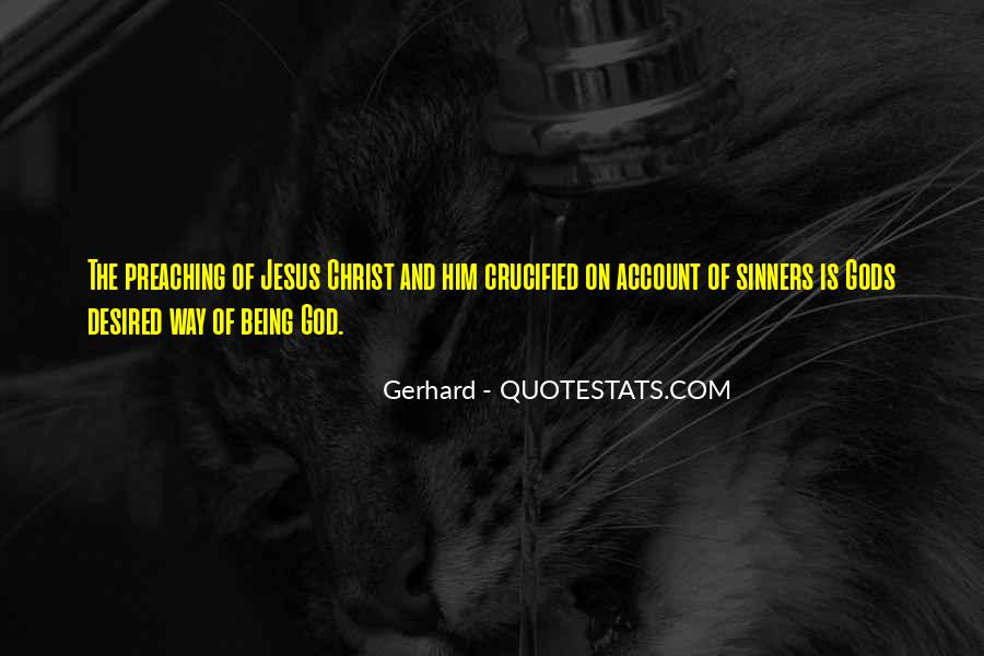 Crucified God Quotes #675325