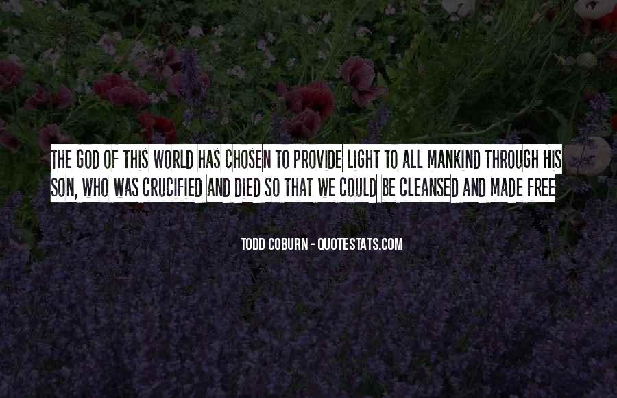 Crucified God Quotes #750686